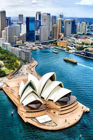 Континент Австралия и Океания