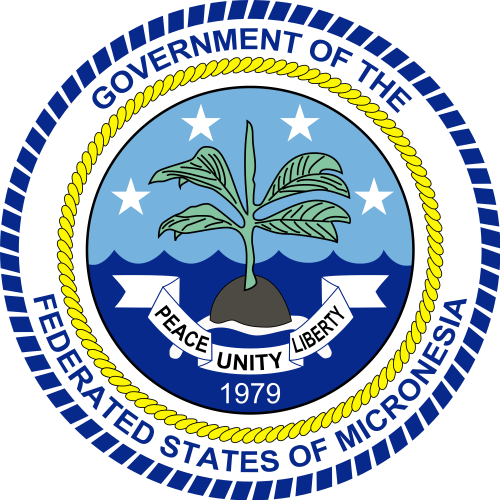 Герб Федеративных Штатов Микронезии