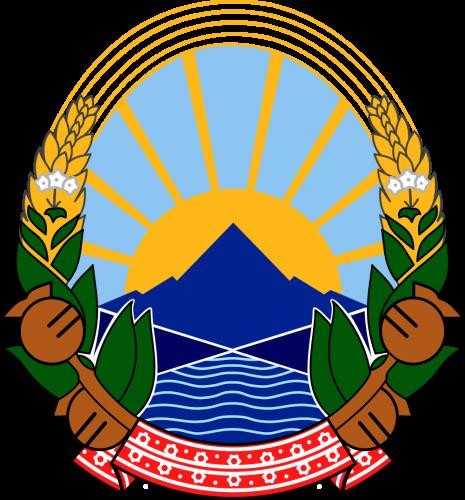 Герб Северной Македонии
