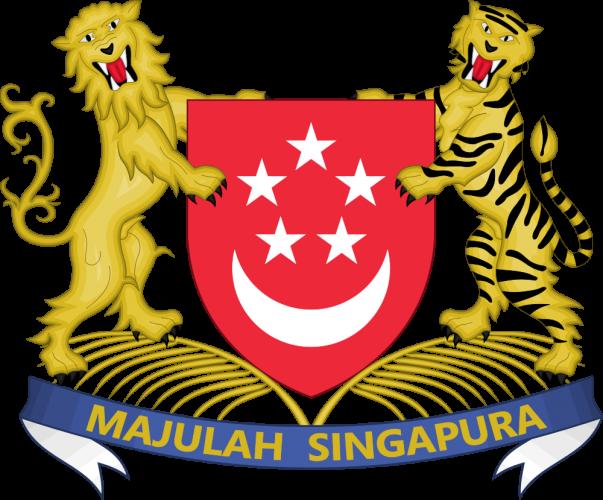 Герб Сингапура