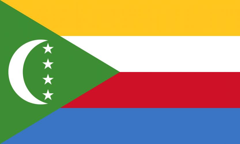 Флаг Коморских остров