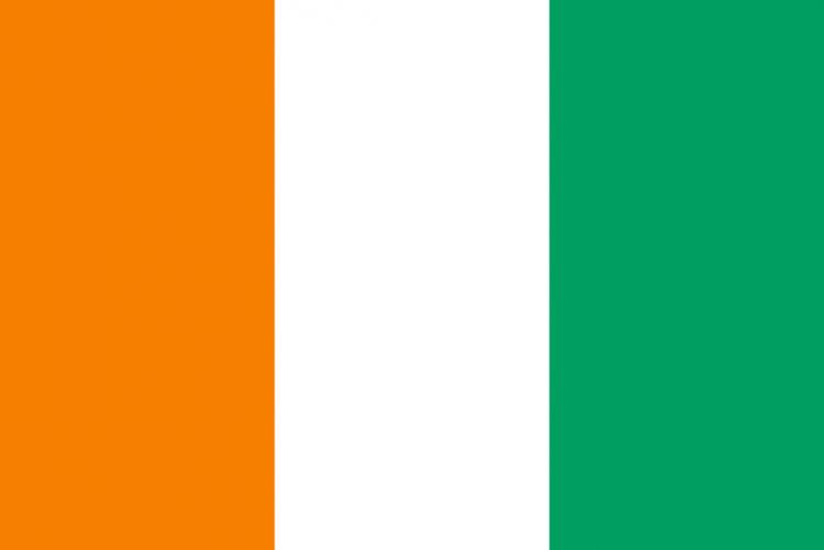 Флаг Кот-д'Ивуара