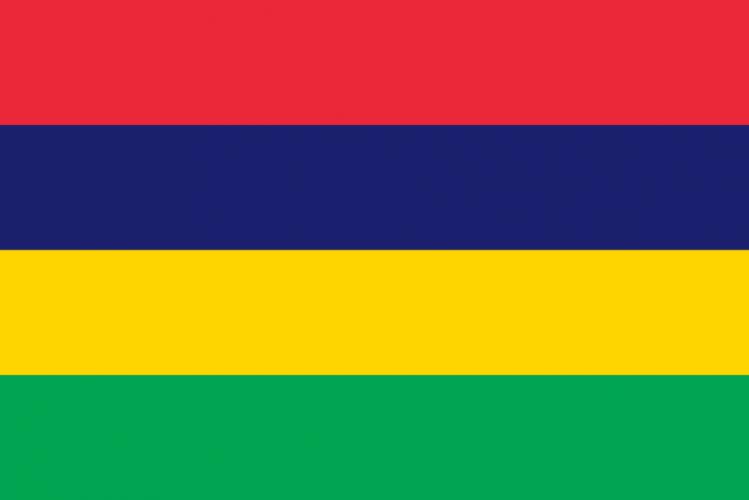Флаг Маврикия