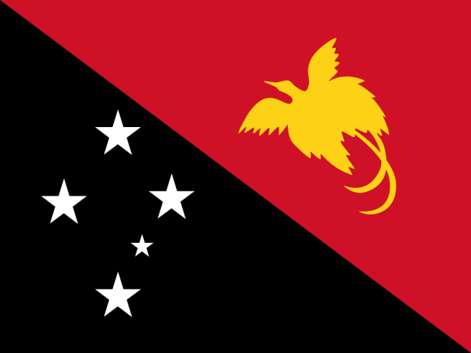Флаг Папуа – Новой Гвинеи