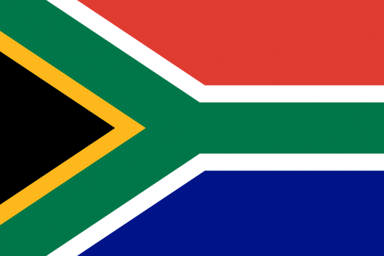 Флаг Южно-Африканской Республики