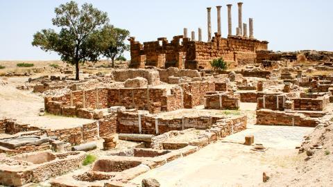Древний город Карфаген