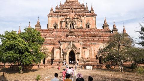 Древние храмы Багана (Пагана)