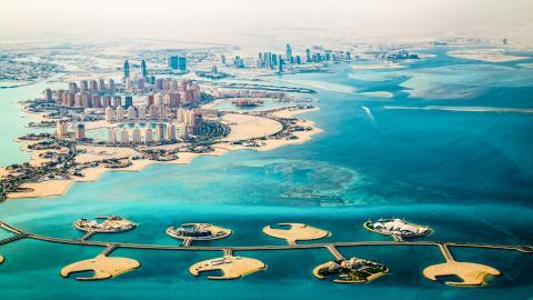 Искусственный остров Жемчужина Катара