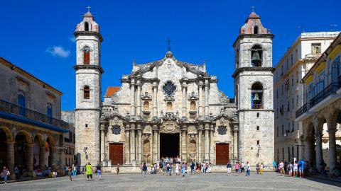 Кафедральный собор в Гаване