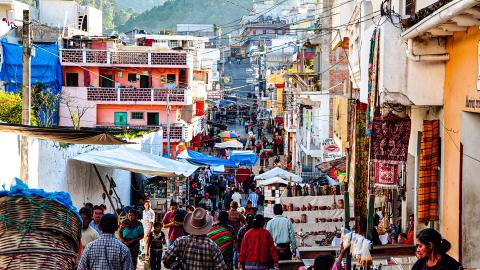 Рынок Чичикастенанго