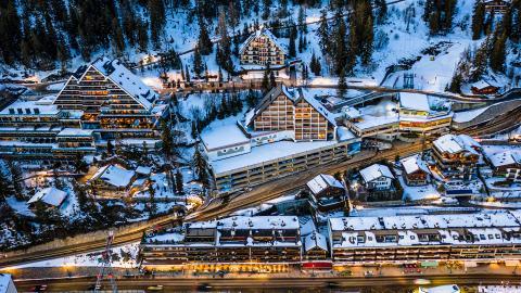 Кран-Монтана - горнолыжный курорт