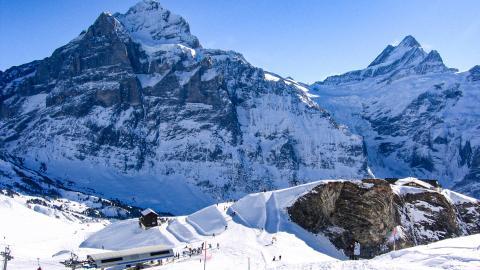 Гриндельвальд - горнолыжный курорт