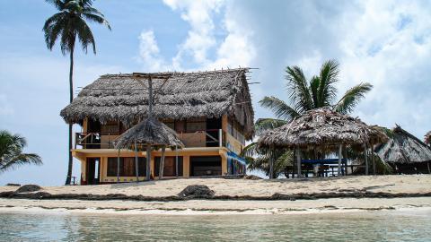Пляж комарки Гуна Яла (Куна Яла)