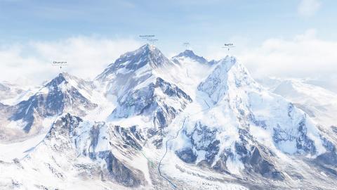 Гора Эверест (Джомолунгма)