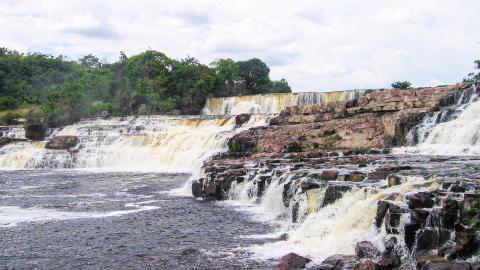 Водопад Ориндуик