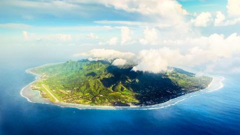 Остров Раротонга (атолл)