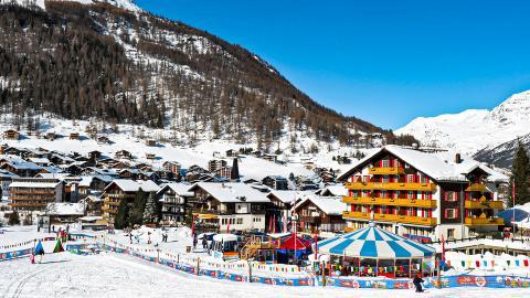 Саас-Фе - горнолыжный курорт