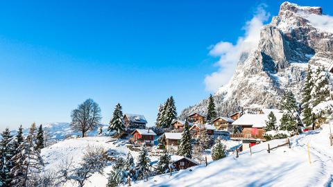 Венген - горнолыжный курорт