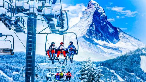 Церматт - горнолыжный курорт